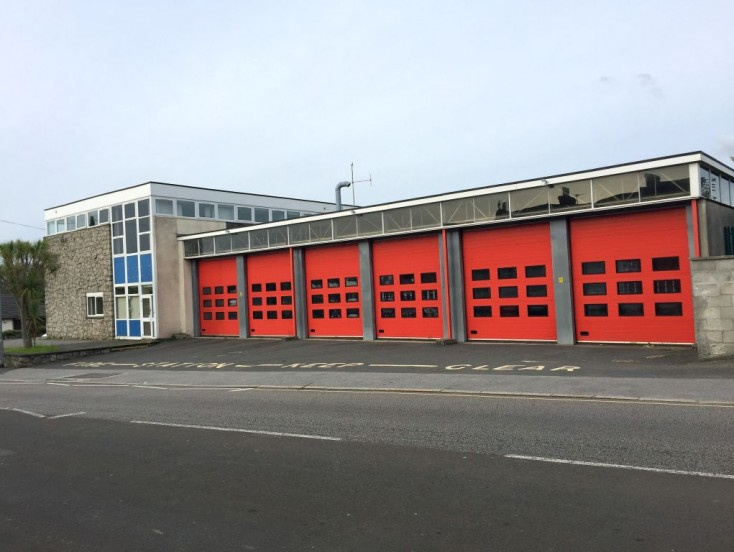 Camborne Fire Station, Weeth Lane, Camborne, TR14 7JL