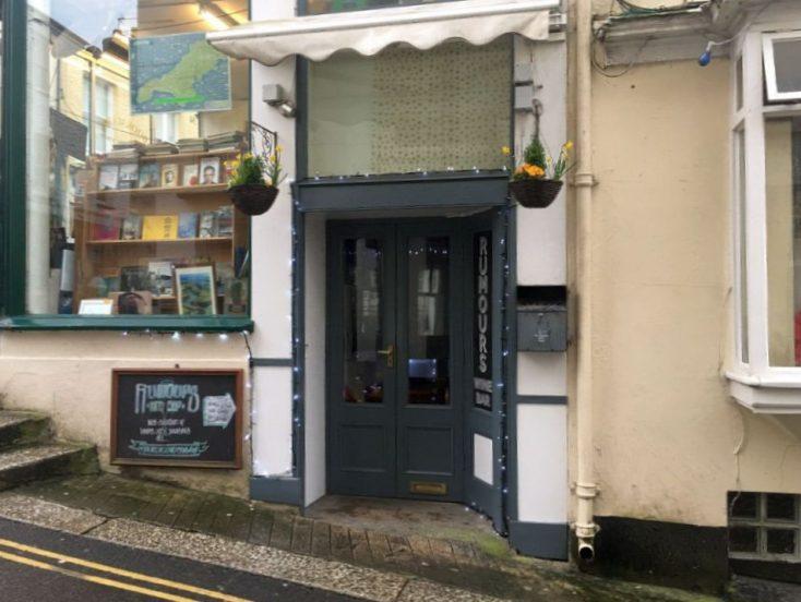 Rumours Wine Bar, Quay Hill, Falmouth, Cornwall, TR11 3HG