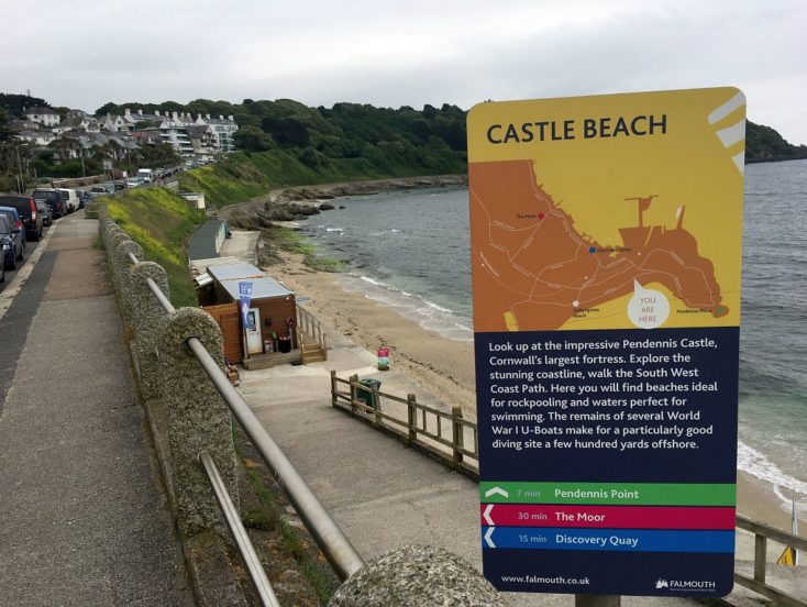 Castle Beach Cafe, Cliff Road, Falmouth  TR11 4NZ