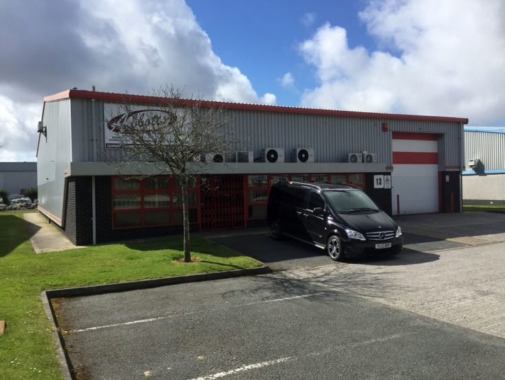 Unit 13, Pool Industrial Estate, Druids Road, Pool, Redruth  TR15 3RH