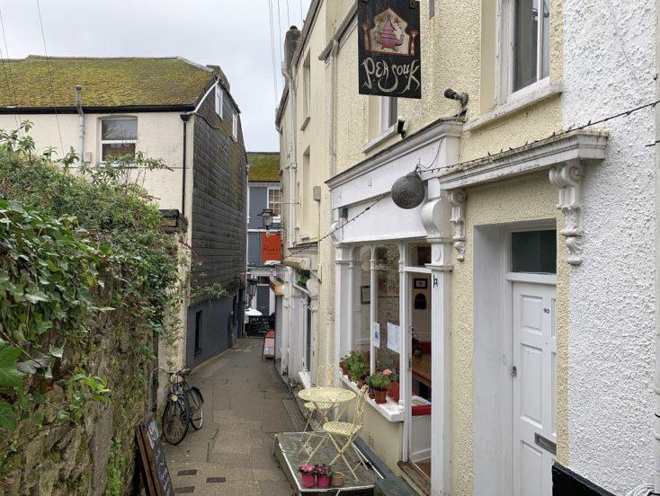 Pea Souk Restaurant, 19C Well Lane, Falmouth TR11 3DJ