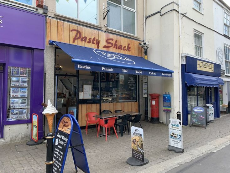 Pasty Shack, 60 Church St, Falmouth TR11 3DS