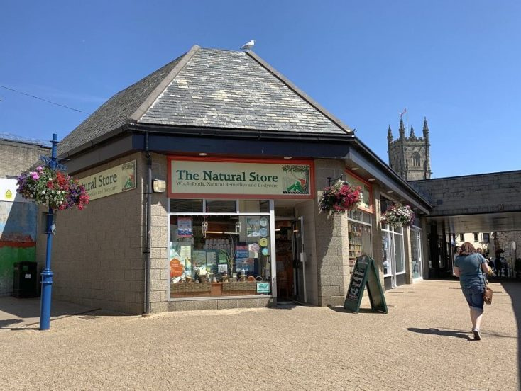 The Natural Store, Kiosk C Old Vicarage Place, St Austell  PL25 5YY