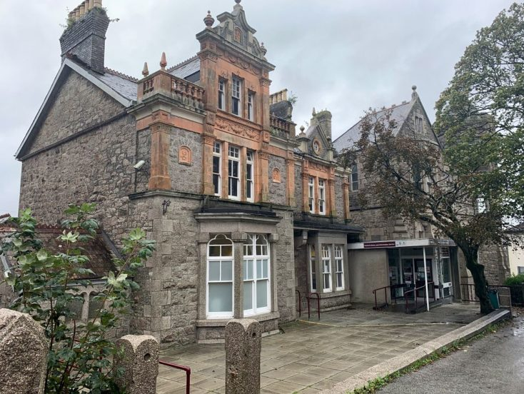 Former Redruth Library, 2-4 Clinton Road, Redruth, TR15 2QE