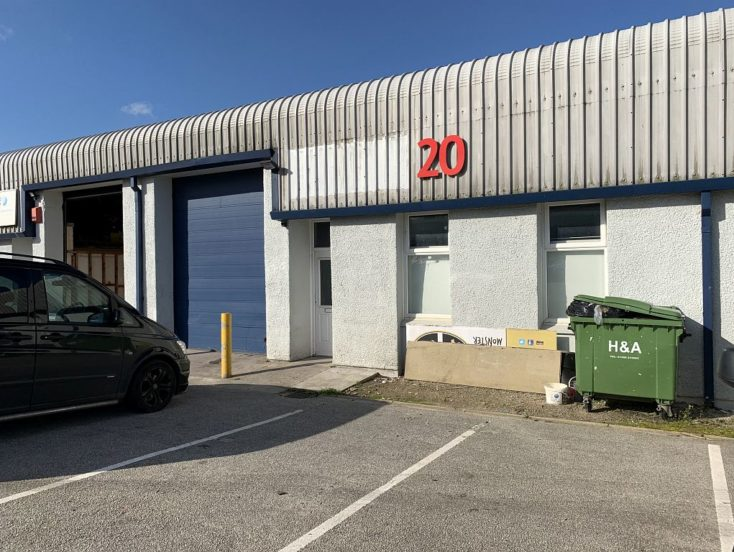 Unit 20 Cardrew Trade Park South, Cardrew Way, Redruth  TR15 1SW