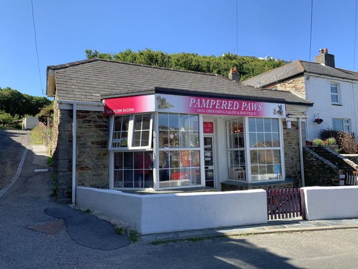 Pampered Paws, 1 Railway Terrace, Portreath, Redruth, Cornwall, TR16 4LD