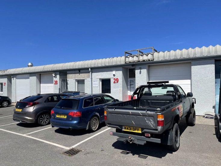 Unit 29, Treloggan Trade Park, Newquay  TR7 2QL